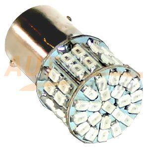 Светодиодная лампа белого света, 66 LED, BA9S, DC 12V, LW-1156/66