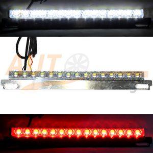 Подсветка номера с дублером СТОП сигнала, светодиодная 15 Led (линза), 12V, LCD-15RW
