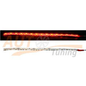 Отрезок светодиодной ленты красного цвета 15 LED, DC 12V, Red, RL-566.15.4