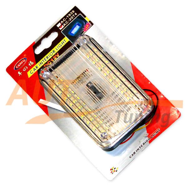 CarToy - Светильник светодиодный, плафон в салон 18 LED, 12V, AC-2074