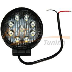 Светодиодная балка 9 LED, Ø155 мм, ближний свет, 27W, COB, 12V, 1 шт, L-606M
