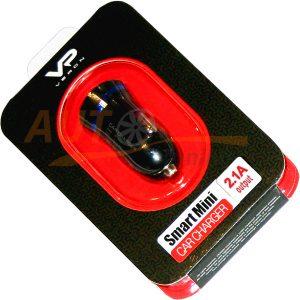 VERON – Автомобильный переходник/адаптер питания, USB, DC 12V – DC 5V / 2.1A