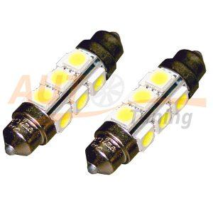 Софитная светодиодная лампа белого света, 12 LED, DC 12-24V, ULC-6L