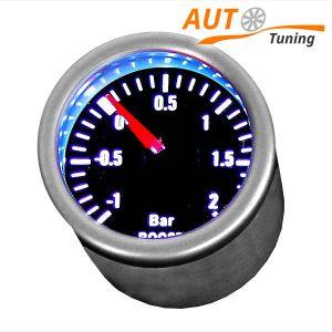 Спортивный прибор – указатель давления турбины, boost, LED 7707-2