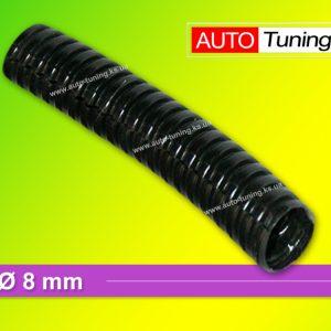 Гофра пластиковая изоляционная для автомобильной проводки, Ø 8 mm, Black