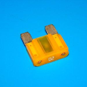 Плавкий предохранитель для автомобиля, 20A, Yellow, Euro MAXI