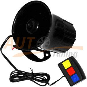 Vitol - Сирена автомобильная электронная c водонепроницаемым пультом, 30W, 12V, CA90104