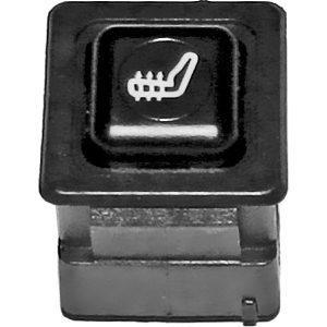 Кнопочный выключатель подогрева сидений на ВАЗ 2108-09, ЗАЗ 1102-05, Москвич 2141