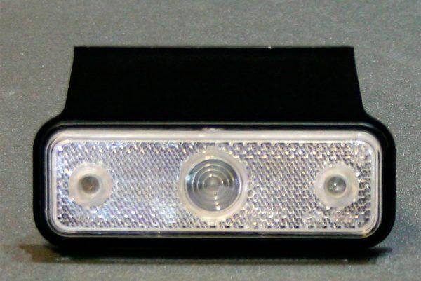 Белый боковой габаритный фонарь, LED DC 12-24V, 1 шт, WT-803