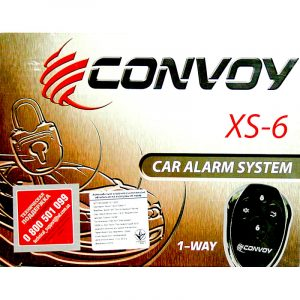 Автосигнализация Convoy XS-6 односторонняя на autotun.com.ua