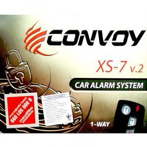 Автосигнализация Convoy XS-7 v2 односторонняя на autotun.com.ua