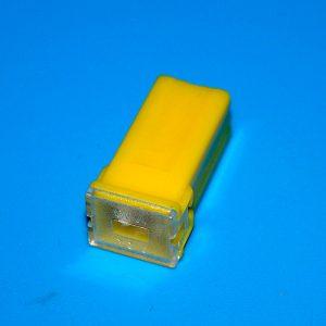 Плавкий предохранитель для автомобиля, 60A, Yellow, Euro MINI