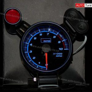Спортивный прибор, PowerMeter с выносной Shift лампой Ø 95 мм, Blue, LED 7515 BL