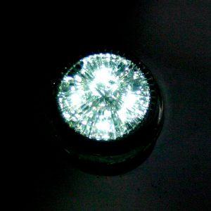 Универсальный круглый габаритный фонарь 4 LED, DC 12-24V, White, LW-1710