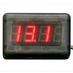 NOVATOR – Вольтметр, годинник, тахометр з цифровим дисплеєм, NOVA-12