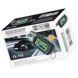 Автосигнализация Sheriff ZX-755 двуxсторонняя