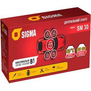 SIGMA – Центральный замок, нагрузка max – 8,5 кг., SM-30