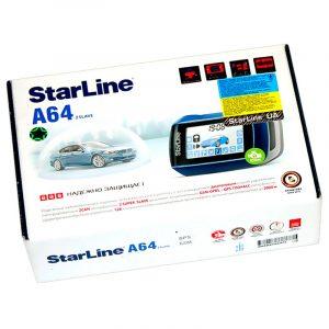 Автосигнализация StarLine A64 CAN Slave