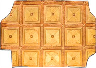 Декоративное покрытие, выкройки из линолеума