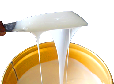 Жидкий силикон, белый и прозрачный