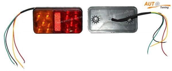 Комплект СТОП-сигналов на прицеп с дублером поворота, 140×70 (мм), PRC-9804