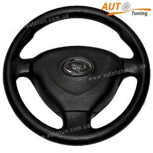 Рулевое колесо (Славута, Таврия и Москвич), 3 спицы, Ø 35см, Pilot Ultra