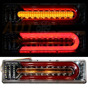 Тюнингованный LED СТОП-сигнал, 466×135×18 мм, Wagon, DC 24V, 2 шт