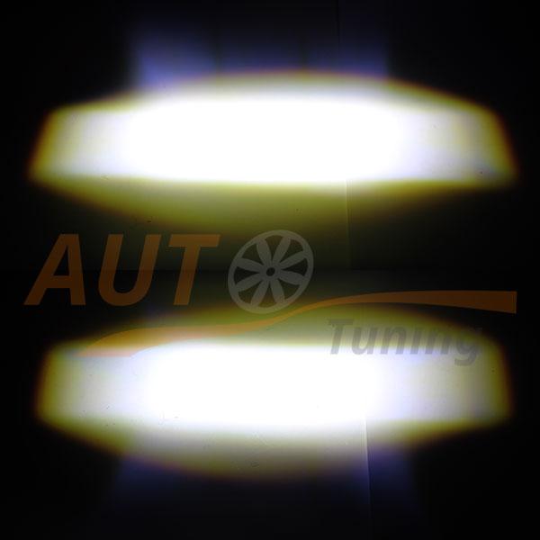Дополнительная оптика, светодиодные линзы, дальний и ближний свет, White, BE-805W