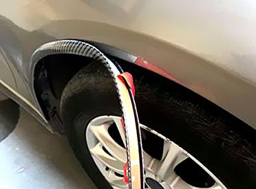 Защитные накладки на арки автомобиля