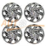 WINJET - Комплект колпаков на колеса R13, Chrome, 4шт, WJ-Т003-C