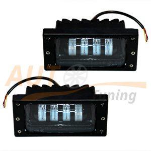 Противотуманные LED-фары c режимом ДХО на ВАЗ 2110-11-12, 2шт, White, EE-6003W