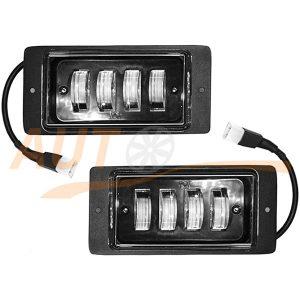Противотуманные LED-фары на ВАЗ 2110-11-12, 2шт, White, LE-5001W