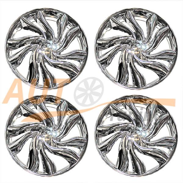 WINJET - Комплект колпаков на колеса R13, Chrome, 4шт, WJ-5046-C