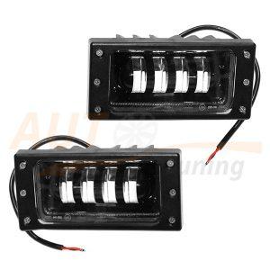 Противотуманные LED-фары на ВАЗ 2110-11-12, 2 режима W/Y, 2шт, EP-6004W/Y