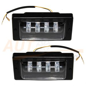 Противотуманные LED-фары на ВАЗ 2110-11-12, 2шт, White, PE-5002