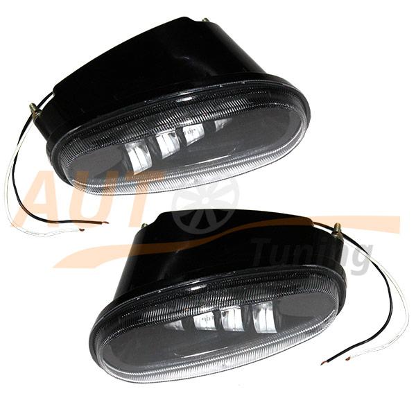 Противотуманные LED-фары на Daewoo LANOS, 4 Led, 2шт, ME-30899
