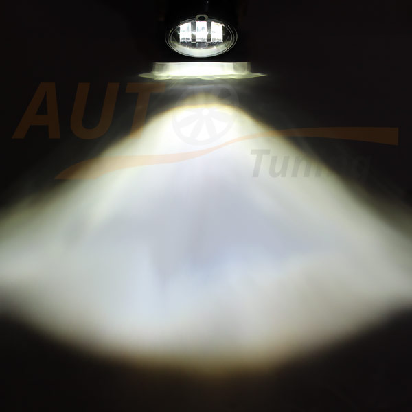 Противотуманные LED-фары на ВАЗ 2170, Лада Приора (Lada Priora), 2 шт, ME-88920W